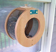 "Coveside Port Hole Window Bird Feeder 6"" Opening"