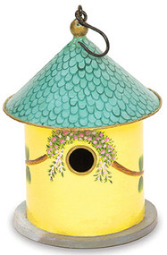 "Achla Cozy Den Bird House 1.5"" Hole"