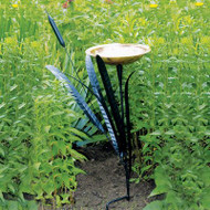 Achla Single Cat Tail Bird Bath