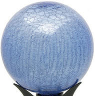"Achla 10"" Gazing Globe Blue Lapis Crackle"