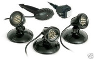 Atlantic LED Pond Lighting 3 Light Kit w/ Transformer