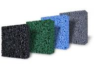 "Matala Filter Media Pads 4 Colors Black Green Blue And Gray Half Sheets 39"" x 24"" x 1.5"""