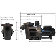 Performance Pro Artesian High Flow Pump A2-1-HF NO CORD