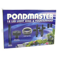 Pondmaster 24 LED Light Ring & Fountainhead