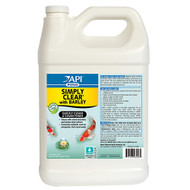 API Pond Care Simply Clear With Barely 1 Gallon Fast Acting Benifical Bacteria Pond Clarifier 248 C
