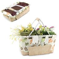 Picnic Time Garden Metro Basket-Botanica