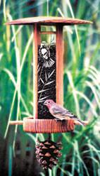 Schrodt Bamboo Songbird Lantern Feeder SBL-B