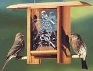 Schrodt Chickadee Pine Cone Bird Feeder