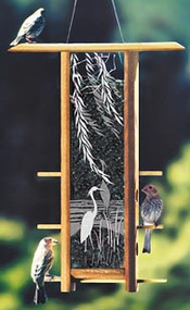 Schrodt Heron Willows Bird Feeder
