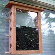 Coveside Window Bird Feeder 6 Ports