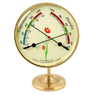 Conant Brass Growmeter with Stand