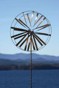 Ancient Graffiti Kinetic Spinner Wagon Wheel