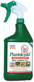 Plantskydd RTU Pre-Mixed Deer Rabbit Elk Moose Repellent 1 qt.