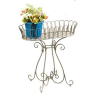 Deer Park Ironworks Large Victorian Oval Planter