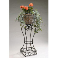 Deer Park Ironworks Tall Square Base Planter