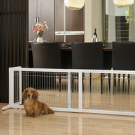 Richell Freestanding Pet Gate Large White