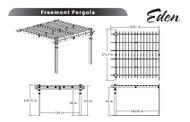 Eden Freemont Pergola