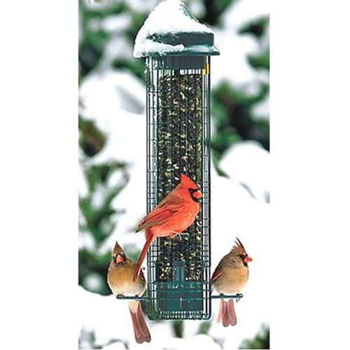 Brome Squirrel Buster Classic Squirrel Proof Bird Feeder Brome 1015 Squirrel Buster Classic  https://www.youtube.com/watch?v=dvRSBPuWOto
