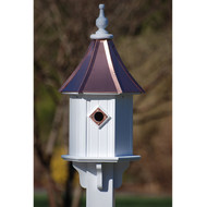 "Fancy Home Products Blue Bird House Bright Copper 10"" BH10-BC"