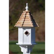 "Fancy Home Products Blue Bird House Cypress Shingle 10"" BH10-CS"