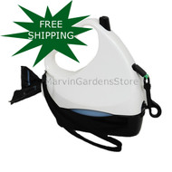 Water Walker Retractable Leash White/Black