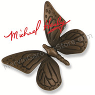 Michael Healy Monarch Butterfly Door Knocker in Oiled Bronze MH1004