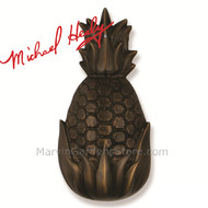 Michael Healy Hospitality Pineapple Door Knocker in Oiled Bronze MH1504