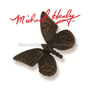 Michael Healy Monarch Butterfly Doorbell Ringer in Oiled Bronze MHR46