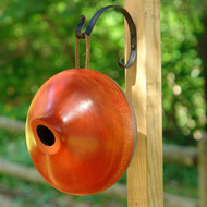 Byer of Maine Ellipse Bird House Mango Tree Collection in Orange MTCD114O
