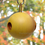Byer of Maine Globe Bird House Mango Tree Collection in Yellow MTCD115Y