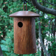 Byer of Maine Natural Bluebird Bird House Mango Tree Collection MTCD110