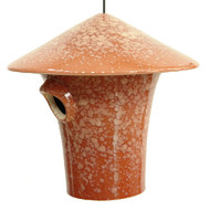 Byer of Maine Alcyon Kasa Bird House in Mottled Red