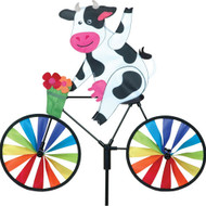 Premier WindGarden 20 inch Cow Bicycle Spinner