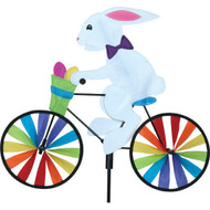 Premier WindGarden 20 inch Bunny Bicycle Spinner