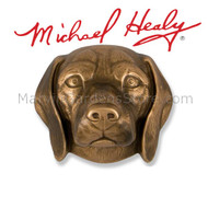 Michael Healy Beagle Dog Door Knocker in Bronze MHDOG06