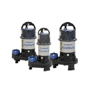 ShinMaywa Norus Stainless Steel Submersible Pump 7000 gph  SM50CR2.75S  ShinMaywa Norus Pumps are widely regarded the finest pumps for the water garden market. Designed to be a truly continuous duty motor so you can run you water feature 24/7/365 with confidence. The ShinMaywa pumps are constructed of Stainless Steel and corrosion resistant Poly Amide Fiber Reinforced Resin. Covered by a 2 year manufacturer's warranty.