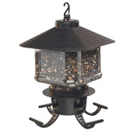 First Nature Clear Lantern Seed Selector Bird Feeder FN3305