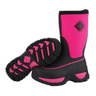 Muck Boot Rugged Boots Kids Youth Hot Pink