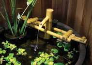 Aquascape Adjustable Pouring Bamboo Fountain with Pump