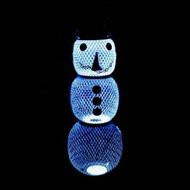 No No Solar Snowman Bird Feeder