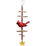 Bobbo Wind Sculpture Cardinal Windchime