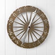 Conant Custom Brass Jeffersonian Wall Thermometer-Brass