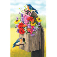 SunsOut Puzzle Bouquet of Bluebirds 500 pcs