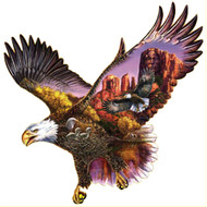 SunsOut Puzzle Ancient Guardian Eagle Shape
