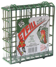 C&S Products EZ Fill Green Color Basket
