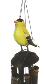Cohasset Imports American Goldfinch Wind Chime