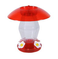 Hiatt Manufacturing Jubilee Hummingbird Feeder Red 20 oz