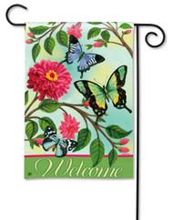 Magnet Works Papillons Garden Flag