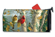Magnet Works Cardinals In Birch MailWrap