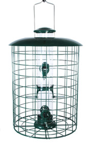 Woodlink Caged 6 Port Seed Tube Feeder